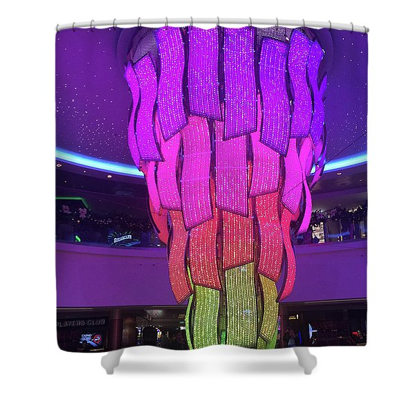 Rainbow Light Shower Curtain