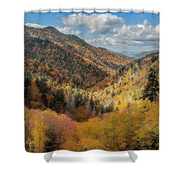 Rainbow Of Colors Shower Curtain