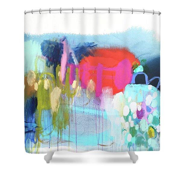 Rainbow Ride Shower Curtain