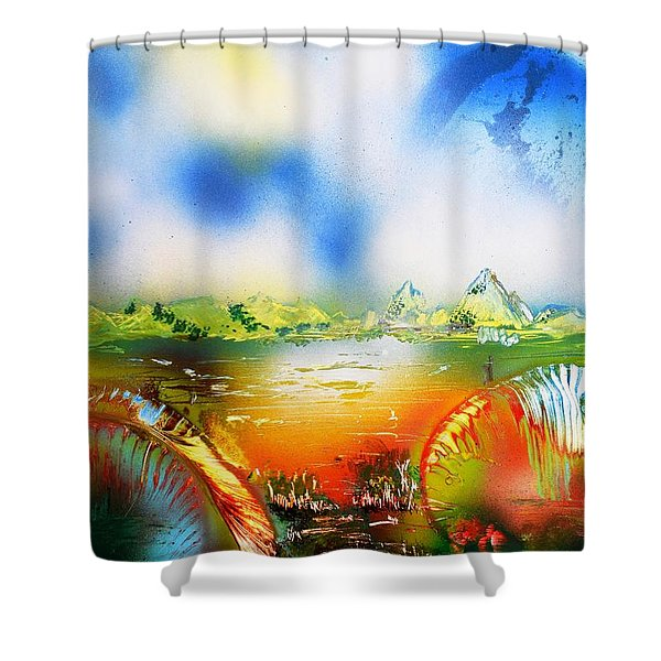 Rainbowland  Shower Curtain