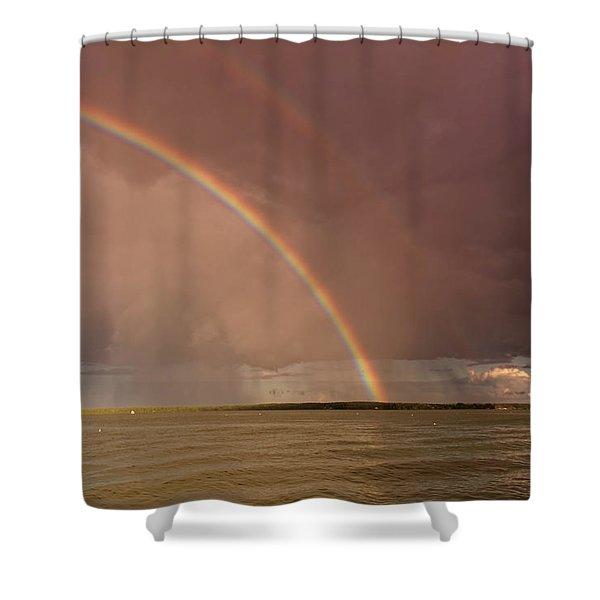 Rainbows Shower Curtain