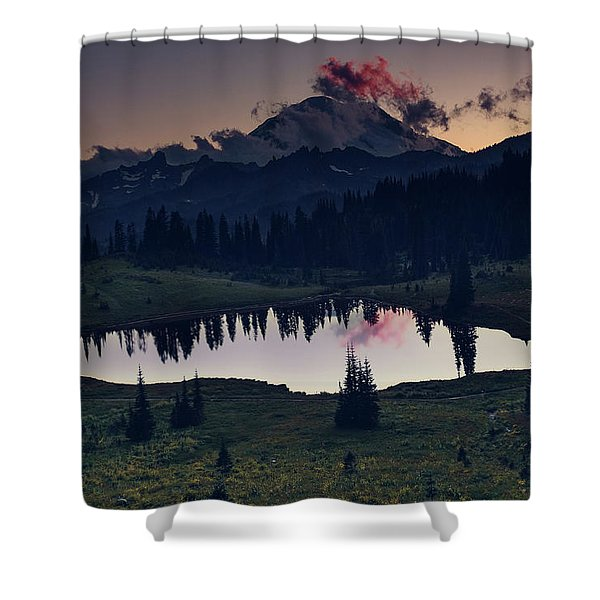 Rainier Color Shower Curtain