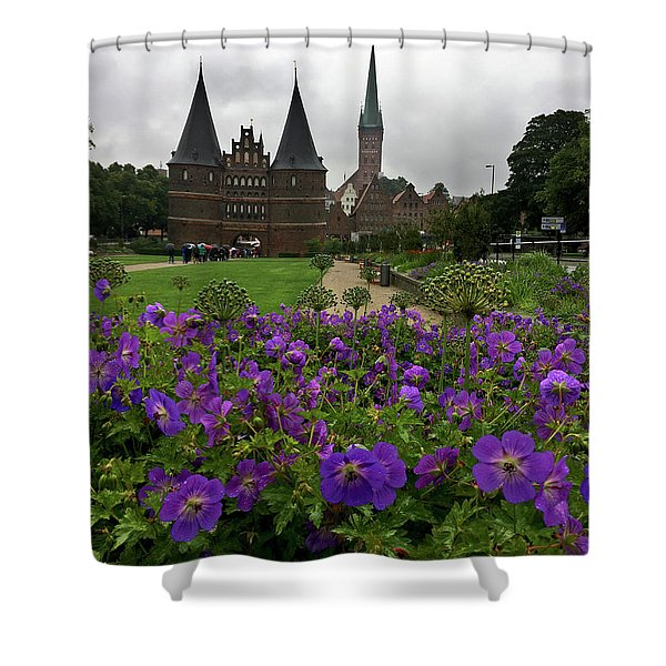 Rainy Luebeck Is Beautiful Shower Curtain