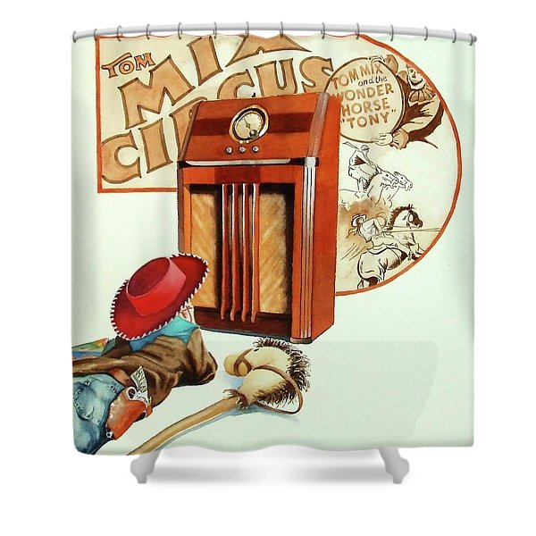 Raised On The Radio 2 Shower Curtain