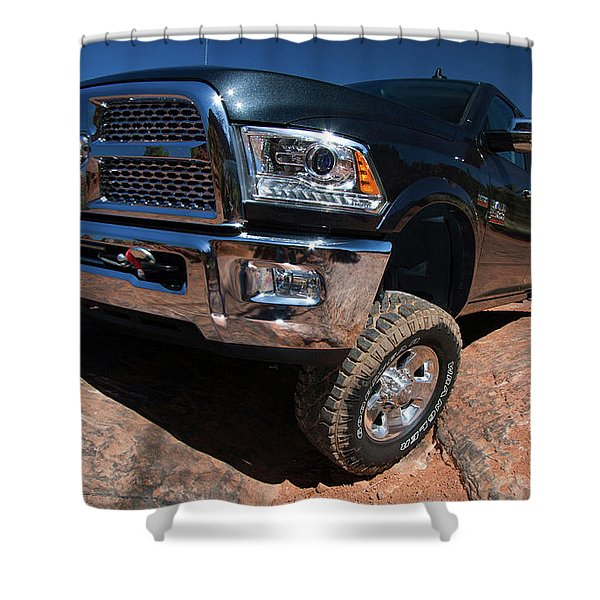 Ram 2500 Power Wagon Laramie Crew Cab 2014 1920x1200 003 Shower Curtain