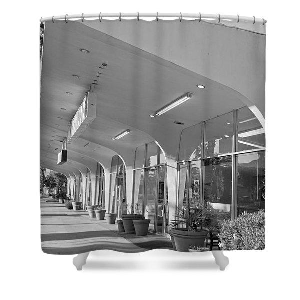 Ramon Drugs Building Donald Wexler  Shower Curtain