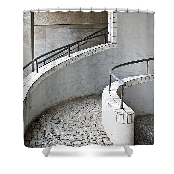 Ramp Entrance Shower Curtain