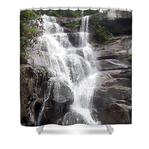 Ramsay Cascade Smoky Mountains National Park Shower Curtain