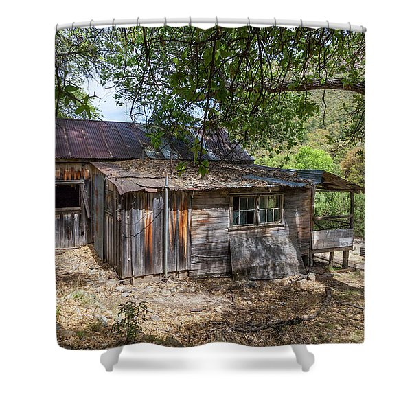 Ramsey Canyon Cabin Shower Curtain