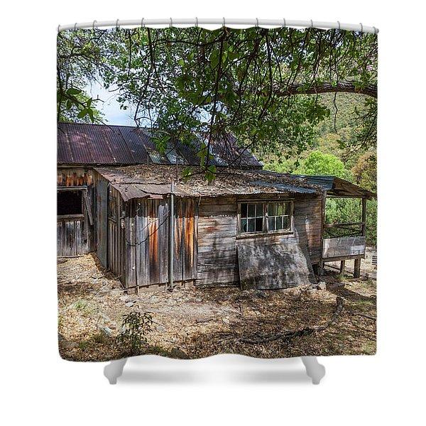 Ramsey Canyon Cabin Shower Curtain