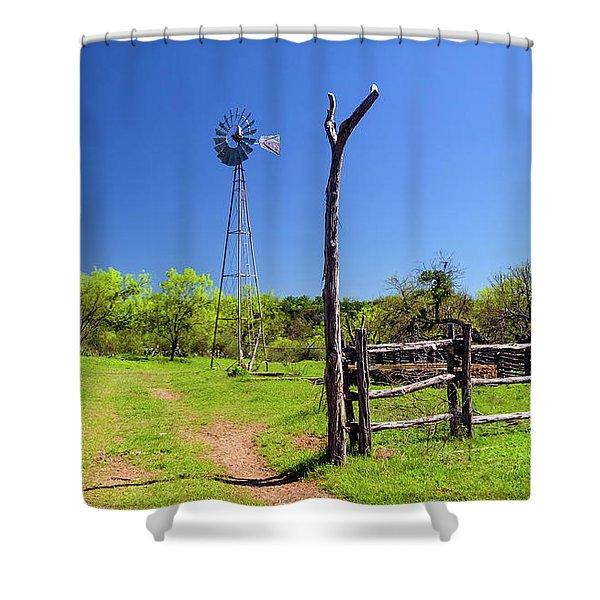 Ranch At Click Gap II Shower Curtain