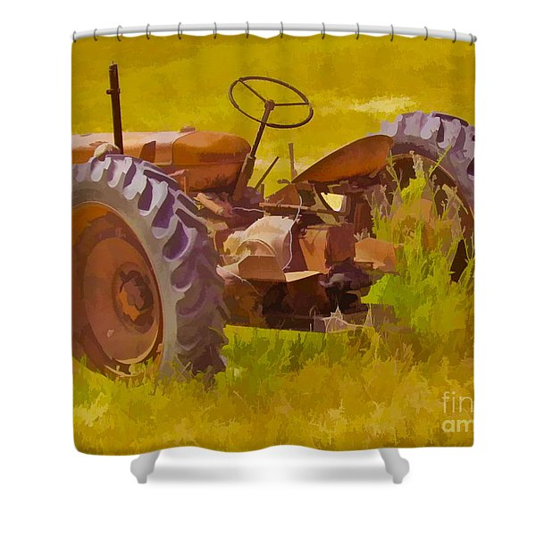 Ranch Hand Shower Curtain
