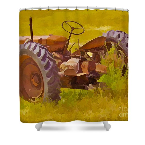 Ranch Hand Shower Curtain