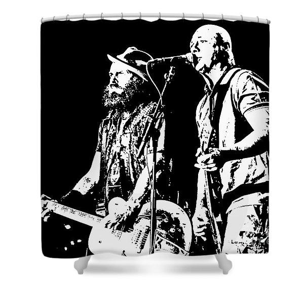 Rancid - Lars And Tim Shower Curtain