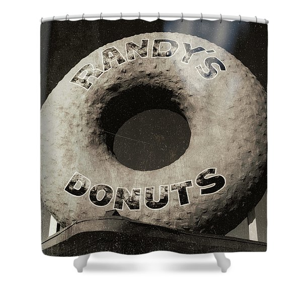 Randy's Donuts - 10 Shower Curtain