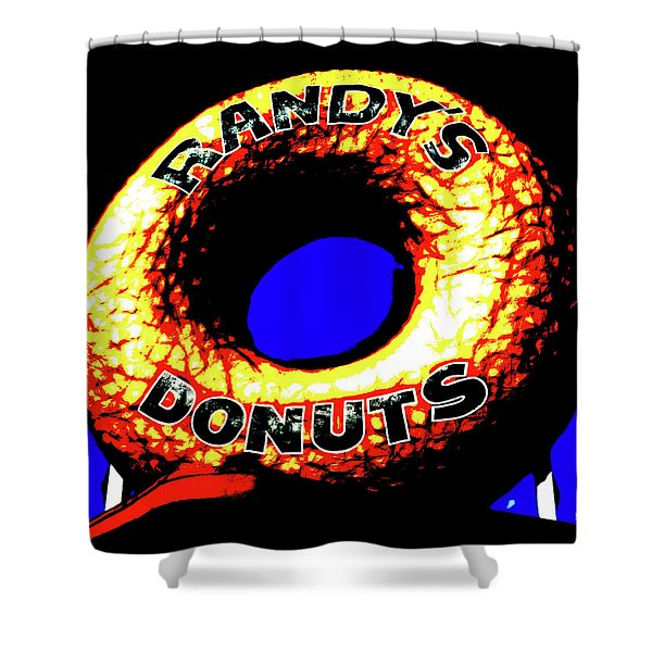 Randy's Donuts - 6 Shower Curtain