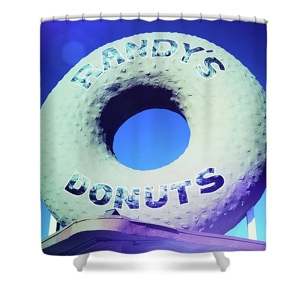 Randy's Donuts - 8 Shower Curtain