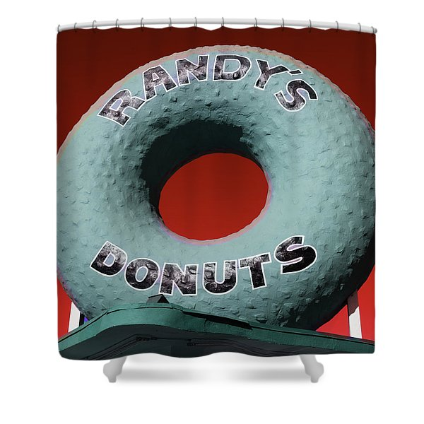 Randy's Donuts - 9 Shower Curtain