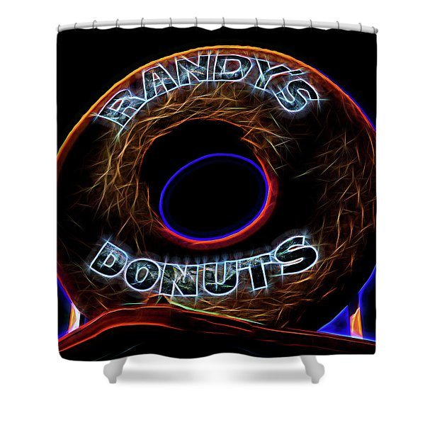 Randy's Donuts - 5 Shower Curtain