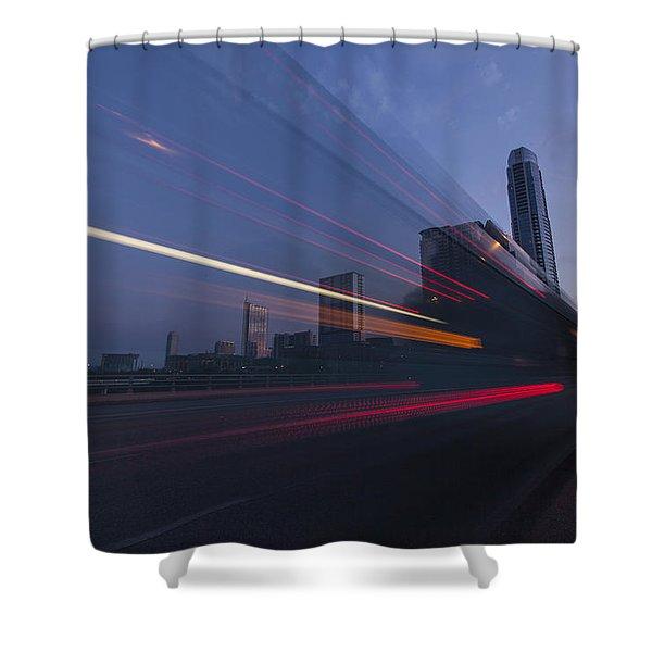 Rapid Transit Shower Curtain