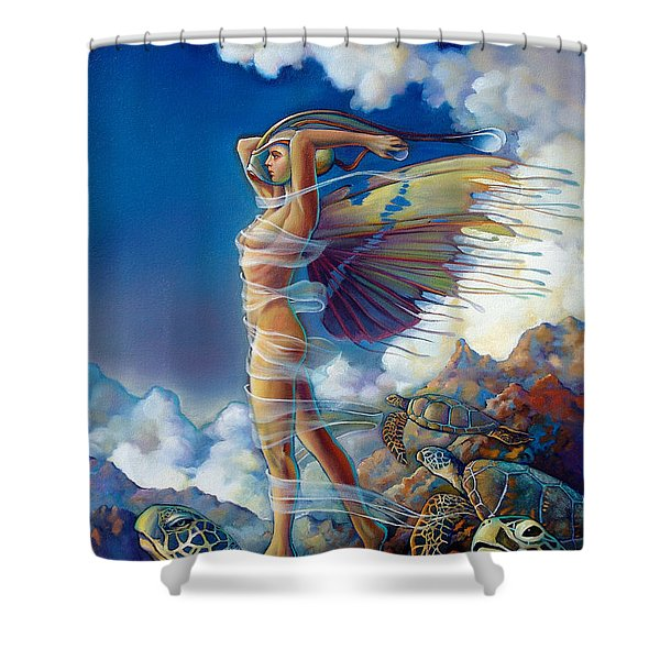 Rapture And The Ecstasea Shower Curtain