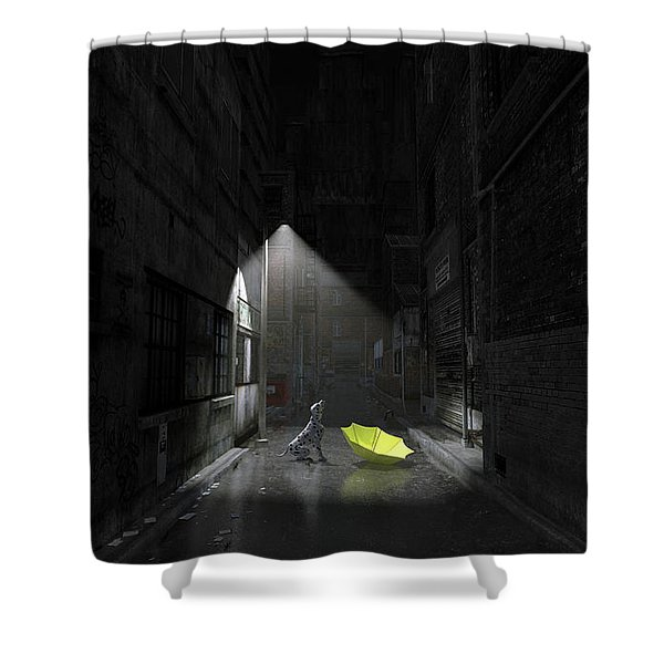 Rapture Shower Curtain