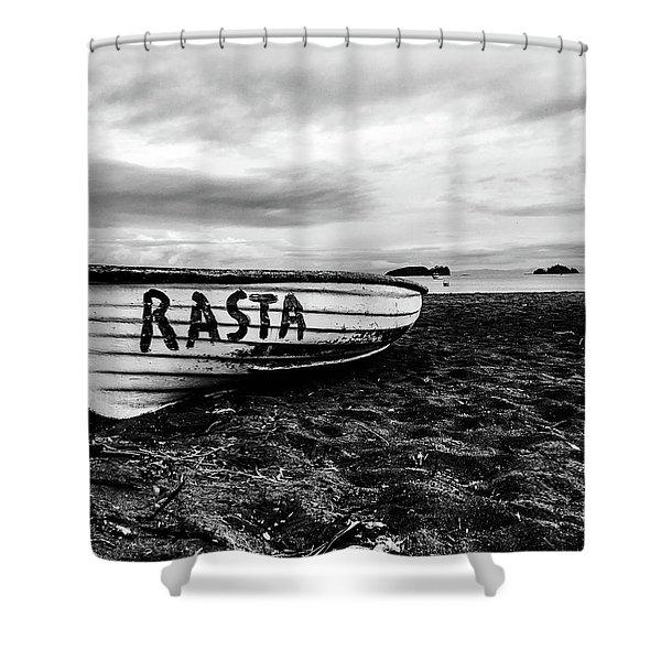 Rasta Noire  Shower Curtain