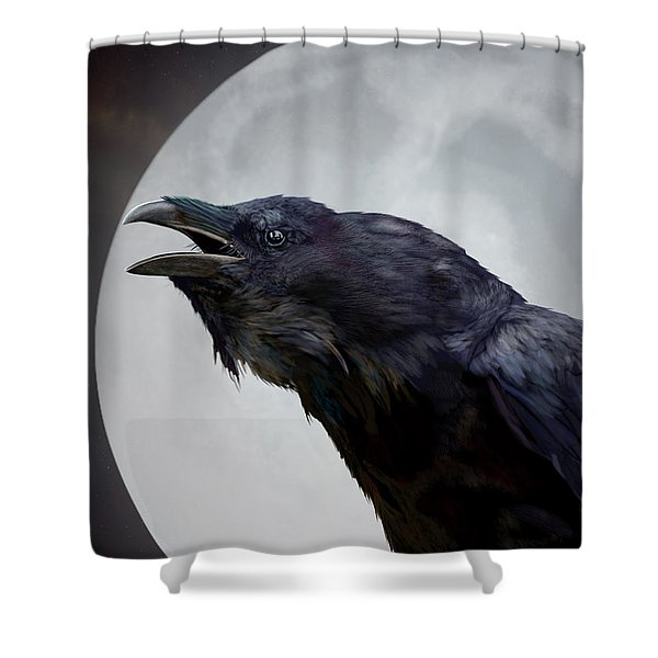 Ravensong Shower Curtain