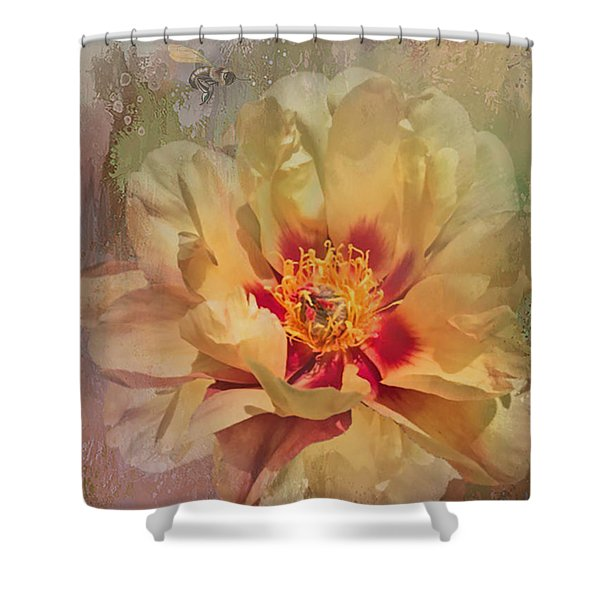 Rayanne's Peony Shower Curtain