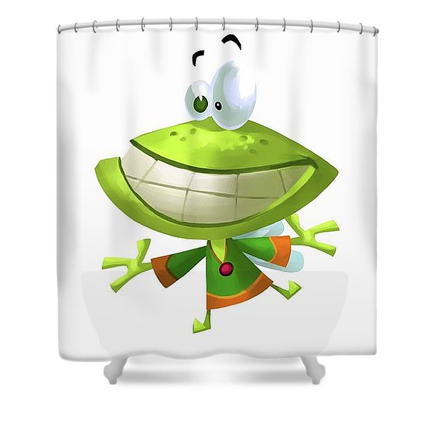 Rayman Legends Shower Curtain