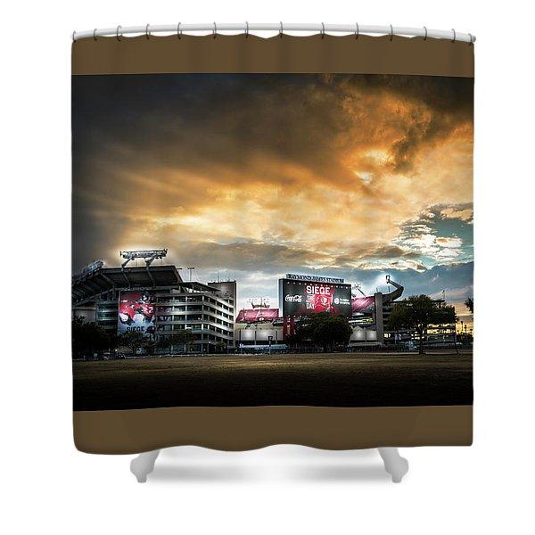 Raymond James Stadium Shower Curtain