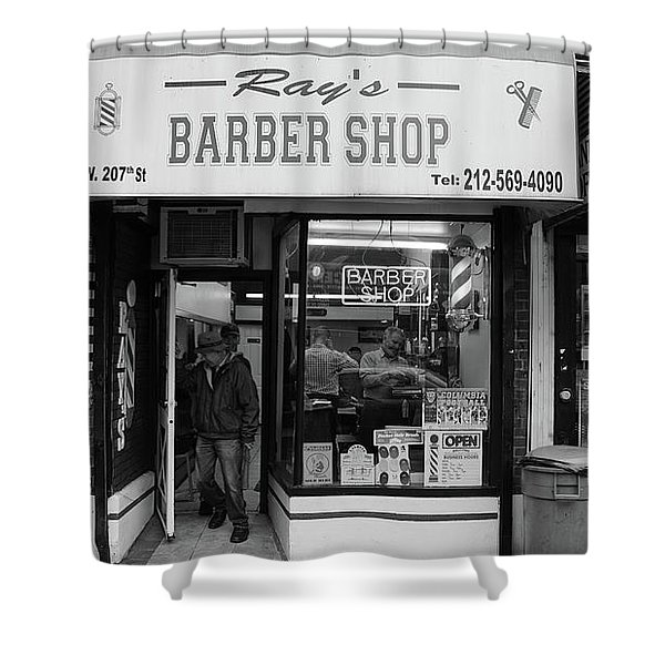 Ray's Barbershop Shower Curtain