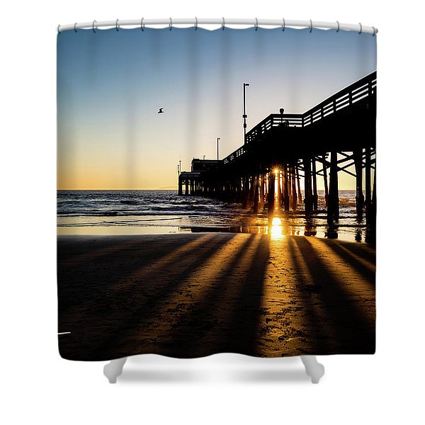 Rays Of Evening Shower Curtain