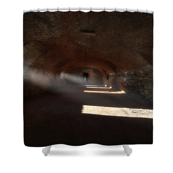 Rays Of Light - Raggi Di Luce Shower Curtain
