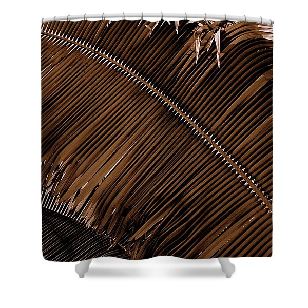 Razor Back Shower Curtain