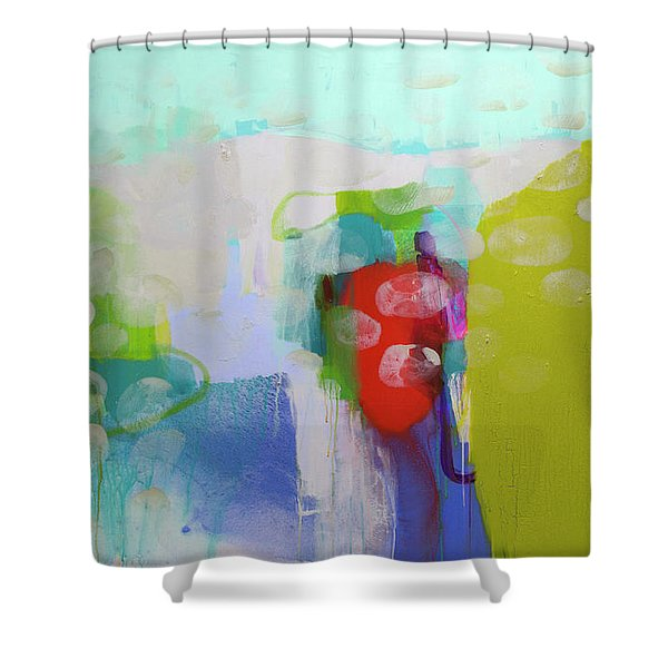 Re-emerging Shower Curtain