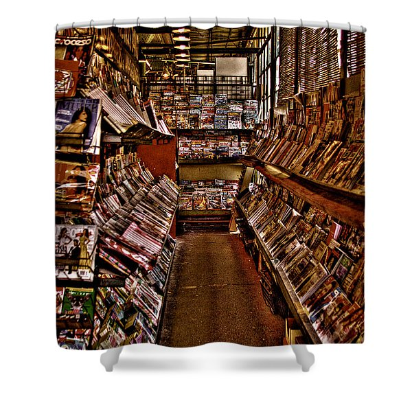 Read All About It News Shower Curtain