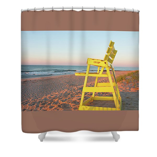 Ready For The Day Shower Curtain