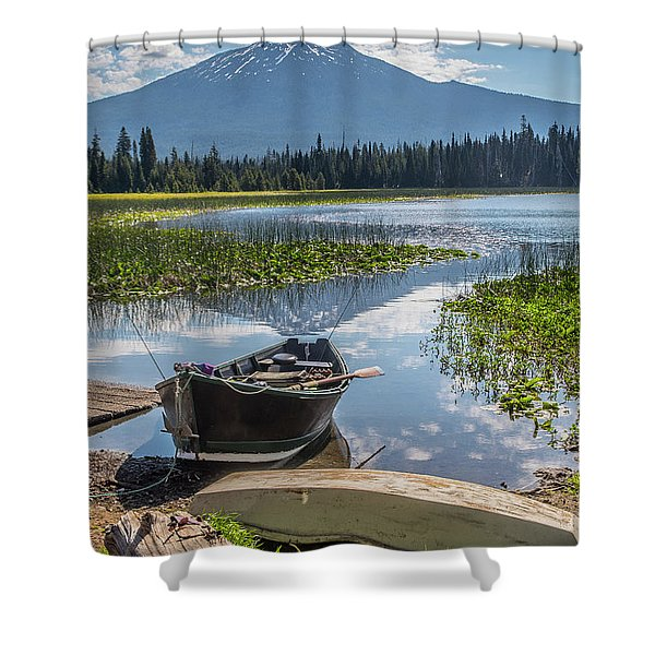 Ready To Fish Shower Curtain
