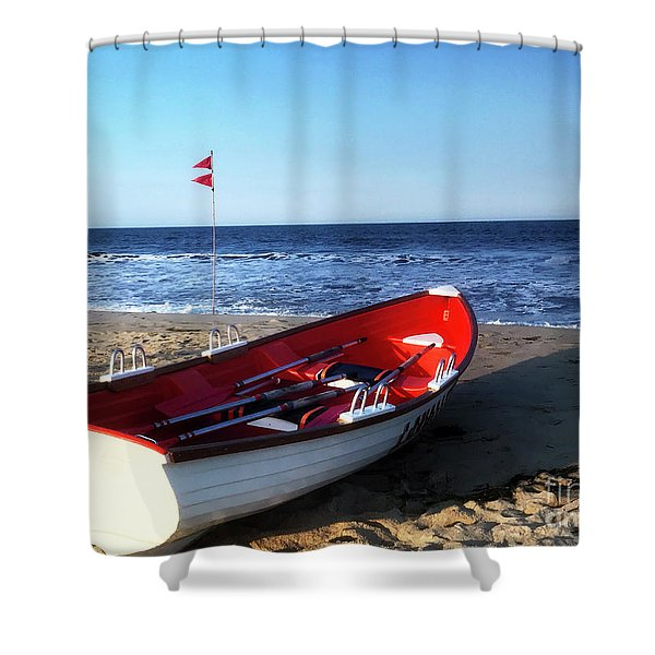 Ready To Row Shower Curtain