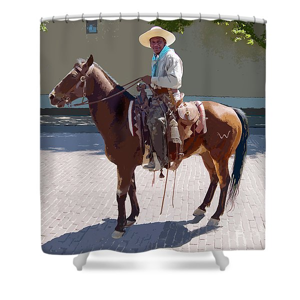 Real Cowboy Shower Curtain