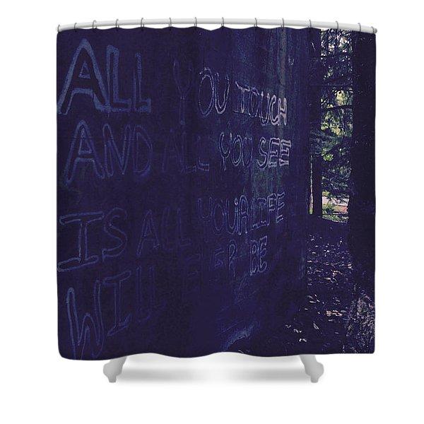 Reality Gap Shower Curtain