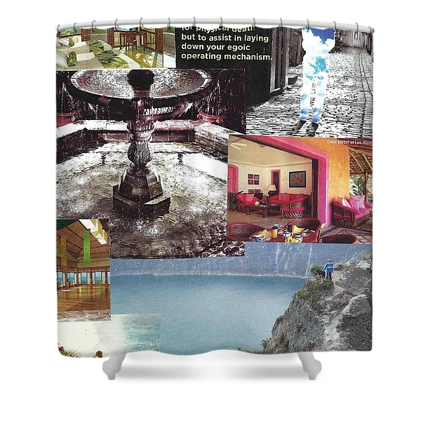 Realms Of Possibility Shower Curtain