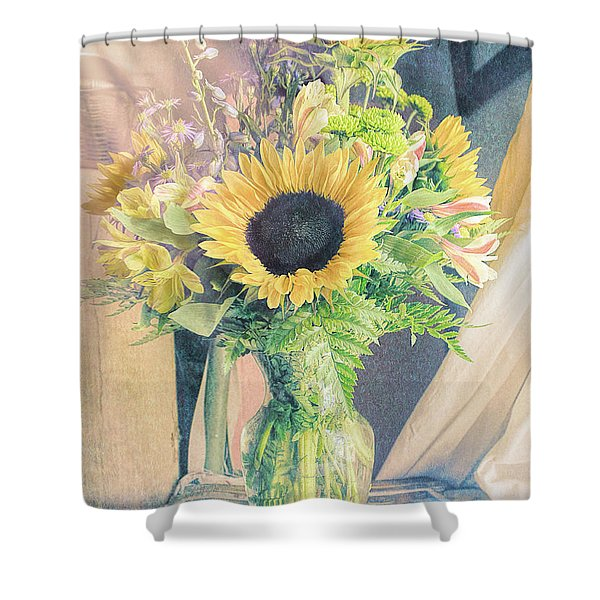 Reared In The Lap Of Summer Shower Curtain