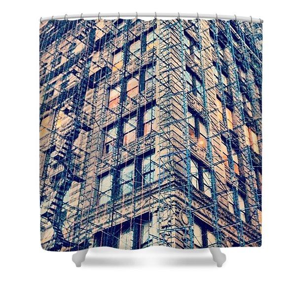 #rebuild #urban #nyc #citylife Shower Curtain