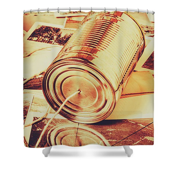 Recalling The Past Shower Curtain