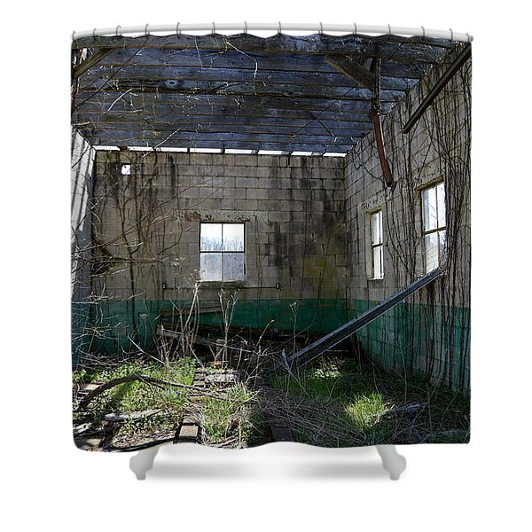 Reclaimed By Nature Shower Curtain