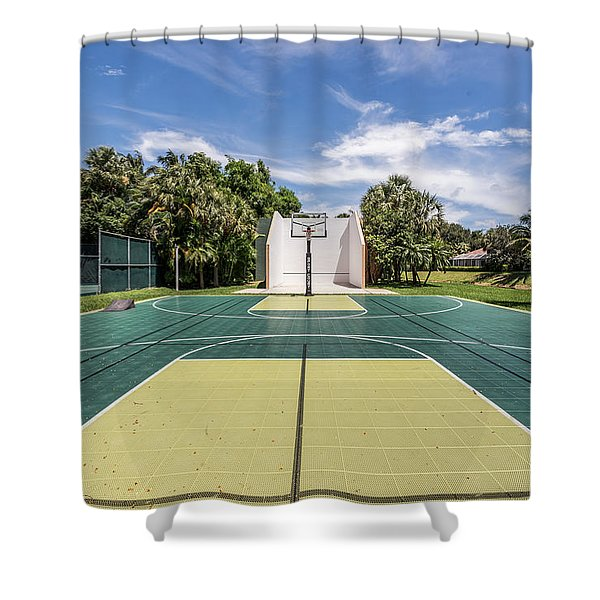 Shower Curtain featuring the photograph Recreation by Jody Lane