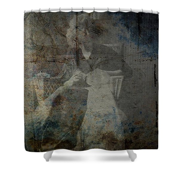 Recurring Shower Curtain