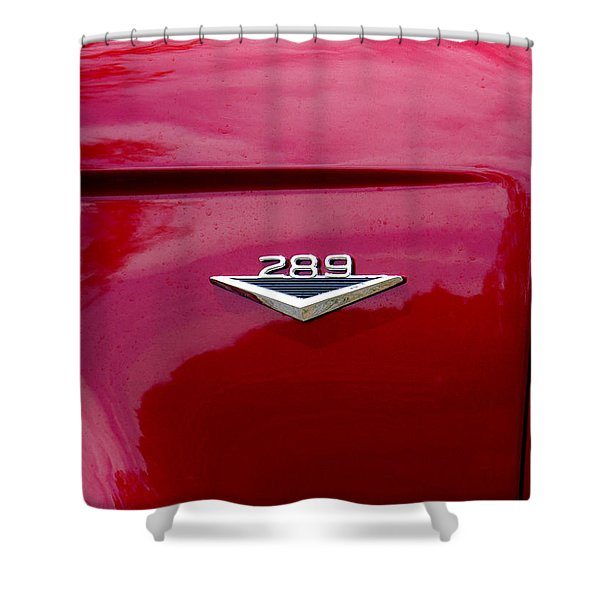 Red Bronco 289 Shower Curtain